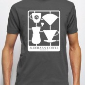 T-Shirt Snap-Together Coffee – Heather Grey